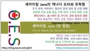 Jane 블로그 명함